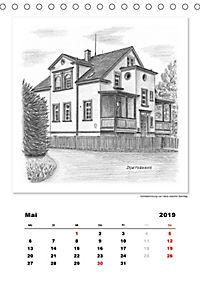 Pfullingen in Kohlezeichnungen (Tischkalender 2019 DIN A5 hoch) - Produktdetailbild 5
