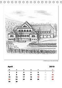 Pfullingen in Kohlezeichnungen (Tischkalender 2019 DIN A5 hoch) - Produktdetailbild 4