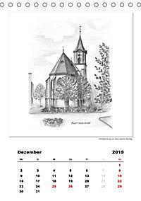 Pfullingen in Kohlezeichnungen (Tischkalender 2019 DIN A5 hoch) - Produktdetailbild 12