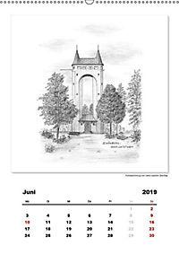 Pfullingen in Kohlezeichnungen (Wandkalender 2019 DIN A2 hoch) - Produktdetailbild 4