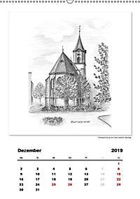 Pfullingen in Kohlezeichnungen (Wandkalender 2019 DIN A2 hoch) - Produktdetailbild 3