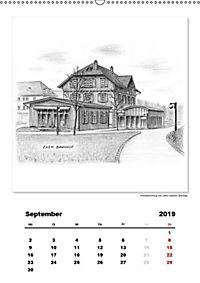 Pfullingen in Kohlezeichnungen (Wandkalender 2019 DIN A2 hoch) - Produktdetailbild 12