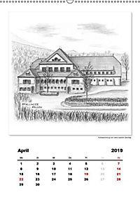 Pfullingen in Kohlezeichnungen (Wandkalender 2019 DIN A2 hoch) - Produktdetailbild 13