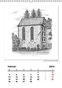 Pfullingen in Kohlezeichnungen (Wandkalender 2019 DIN A3 hoch) - Produktdetailbild 2