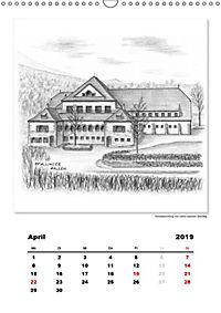 Pfullingen in Kohlezeichnungen (Wandkalender 2019 DIN A3 hoch) - Produktdetailbild 4