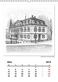 Pfullingen in Kohlezeichnungen (Wandkalender 2019 DIN A3 hoch) - Produktdetailbild 3