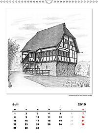 Pfullingen in Kohlezeichnungen (Wandkalender 2019 DIN A3 hoch) - Produktdetailbild 7