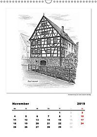 Pfullingen in Kohlezeichnungen (Wandkalender 2019 DIN A3 hoch) - Produktdetailbild 11