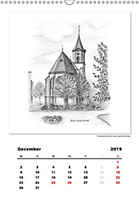 Pfullingen in Kohlezeichnungen (Wandkalender 2019 DIN A3 hoch) - Produktdetailbild 12