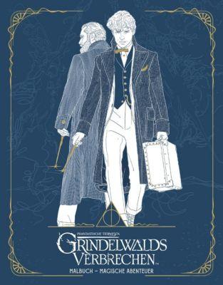 Phantastische Tierwesen: Grindelwalds Verbrechen, Malbuch - Magische Abenteuer - HarperCollins Publishers |