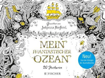 Phantastischer Ozean - Postkartenbuch - Johanna Basford |