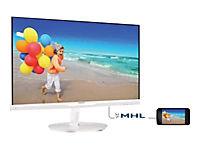 PHILIPS 234E5QHAW/00 58,4cm 23Zoll Wide TFT LCD W-LED 16:9 1920x1080 analog+digital VGA HDMI 2x5W 20Mio:1 250cd 5ms weiss - Produktdetailbild 1
