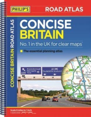 Philip's Concise Atlas Britain