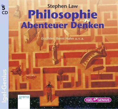 Philosophie, Abenteuer Denken, 5 CDs, Stephen Law