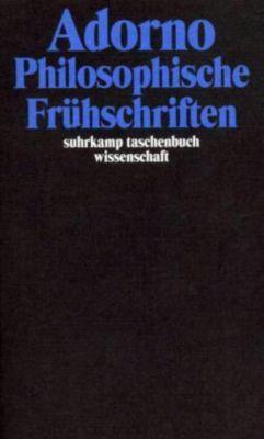 Philosophische Frühschriften, Theodor W. Adorno
