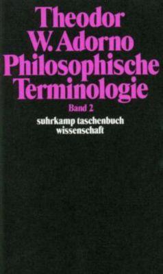 Philosophische Terminologie, Theodor W. Adorno