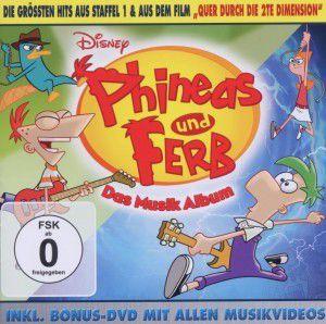 Phineas & Ferb-Das Musikalbum (Deutsch), Diverse Interpreten