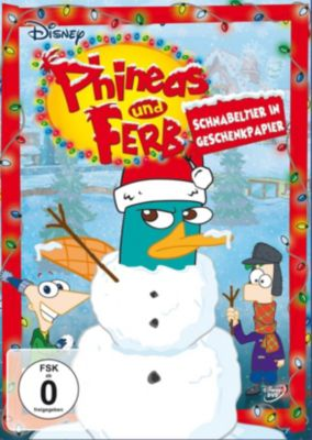 Phineas und Ferb - Schnabeltier in Geschenkpapier, Dan Povenmire, Jeff Swampy Marsh, Martin Olson, Jon Colton Barry, Bobby Gaylor, Antoine Guilbaud, Aliki Theofilopoulos, Kim Roberson, Sherm Cohen