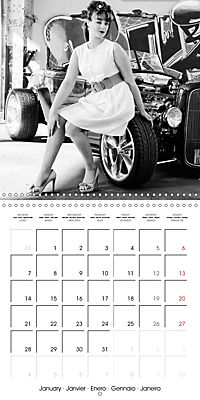 Photography in retro style (Wall Calendar 2019 300 × 300 mm Square) - Produktdetailbild 1