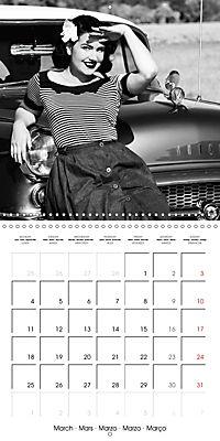 Photography in retro style (Wall Calendar 2019 300 × 300 mm Square) - Produktdetailbild 3