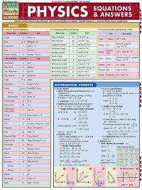 Physics Equations & Answers, Mark Jackson