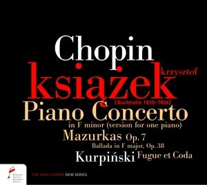 Piano Concerto in F-minor, Mazurkas, Krzysztof Ksiazek