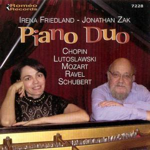 Piano Duo, Jonathan Zak