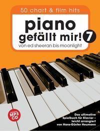 Piano gefällt mir! 50 Chart und Film Hits, m. MP3-CD, Hans-Günter Heumann