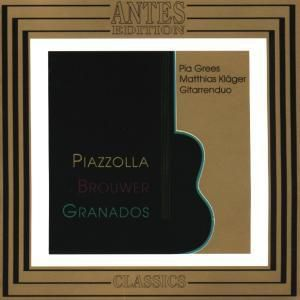 Piazzolla Brouwer Granados, Pia Gress, Matthias Kläger