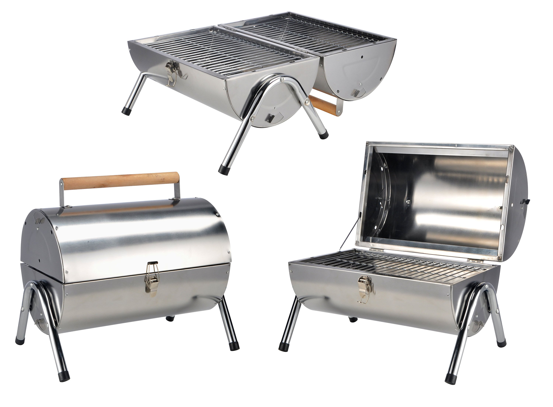picknick-grill aus edelstahl jetzt bei weltbild.de bestellen