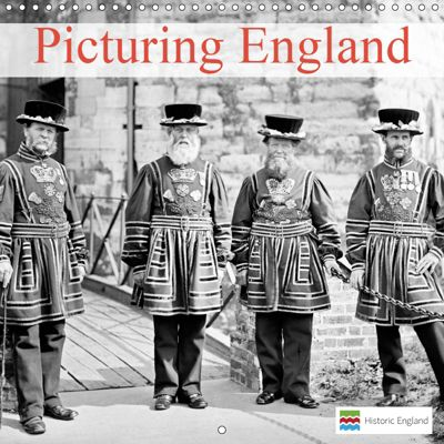 Picturing England (Wall Calendar 2019 300 × 300 mm Square), Historic England