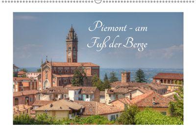 Piemont - am Fuss der Berge (Wandkalender 2019 DIN A2 quer), saschahaas photography