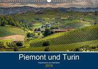 Piemont und Turin (Wandkalender 2019 DIN A3 quer), Michael Fahrenbach