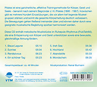 Pilates Musik 2-Ruhig & Entspanned - Produktdetailbild 1