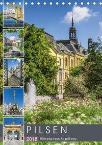 PILSEN Historisches Stadtherz (Tischkalender 2018 DIN A5 hoch), Melanie Viola