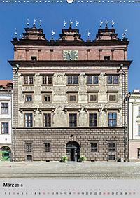 PILSEN Historisches Stadtherz (Wandkalender 2018 DIN A2 hoch) - Produktdetailbild 3