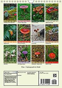 Pilze - Farbenpracht im Wald (Wandkalender 2019 DIN A4 hoch) - Produktdetailbild 3