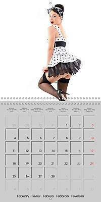 Pin-ups - sexy, funny and hot (Wall Calendar 2019 300 × 300 mm Square) - Produktdetailbild 2