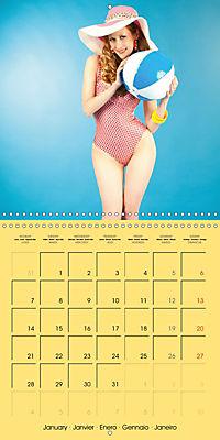 Pin-ups - sexy, funny and hot (Wall Calendar 2019 300 × 300 mm Square) - Produktdetailbild 1
