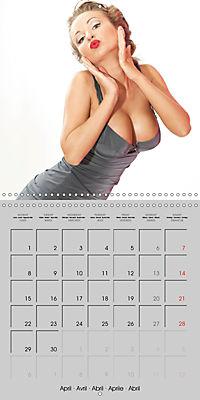 Pin-ups - sexy, funny and hot (Wall Calendar 2019 300 × 300 mm Square) - Produktdetailbild 4