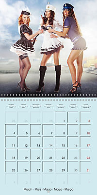 Pin-ups - sexy, funny and hot (Wall Calendar 2019 300 × 300 mm Square) - Produktdetailbild 3
