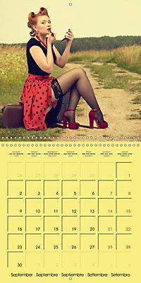 Pin-ups - sexy, funny and hot (Wall Calendar 2019 300 × 300 mm Square) - Produktdetailbild 9