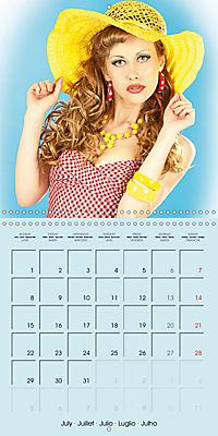 Pin-ups - sexy, funny and hot (Wall Calendar 2019 300 × 300 mm Square) - Produktdetailbild 7