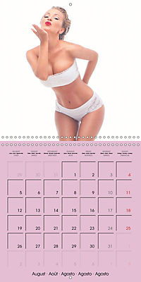 Pin-ups - sexy, funny and hot (Wall Calendar 2019 300 × 300 mm Square) - Produktdetailbild 8