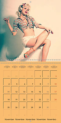 Pin-ups - sexy, funny and hot (Wall Calendar 2019 300 × 300 mm Square) - Produktdetailbild 11