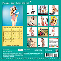Pin-ups - sexy, funny and hot (Wall Calendar 2019 300 × 300 mm Square) - Produktdetailbild 13