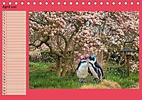 Pinguine privat Planer (Tischkalender 2019 DIN A5 quer) - Produktdetailbild 4