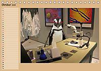 Pinguine privat Planer (Tischkalender 2019 DIN A5 quer) - Produktdetailbild 10