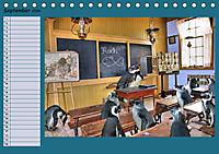 Pinguine privat Planer (Tischkalender 2019 DIN A5 quer) - Produktdetailbild 9
