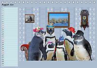 Pinguine privat Planer (Tischkalender 2019 DIN A5 quer) - Produktdetailbild 8